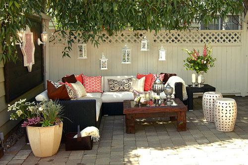 Ideas for outdoor living spaces design ideas for house - Outdoor room ideas pinterest ...