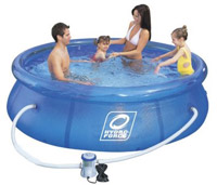 Hydroforce soft sided pool