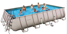 Hydroforce Rectangular Steel Frame Pool