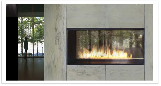 top vent gas fireplaces