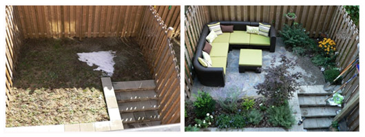 Real People Reno: Condo Patch of Dirt Turned Flagstone Oasis ...