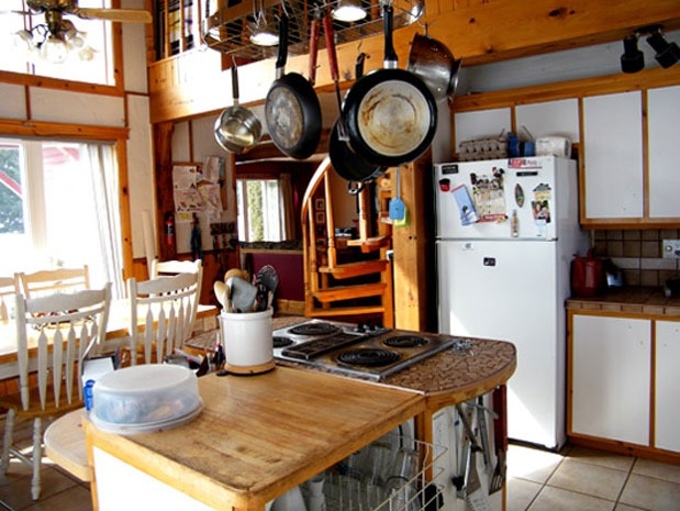 Sam Pynn Saves A Dated Kitchen From Too Much Wood Blog HGTV Canada