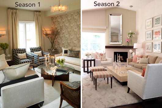 The living room from Season 2  Chalk it up to the light  airy feel and  slightly more modern aesthetic  but don t take my word for it. Sarah Richardson March Makeover Madness  Round 3