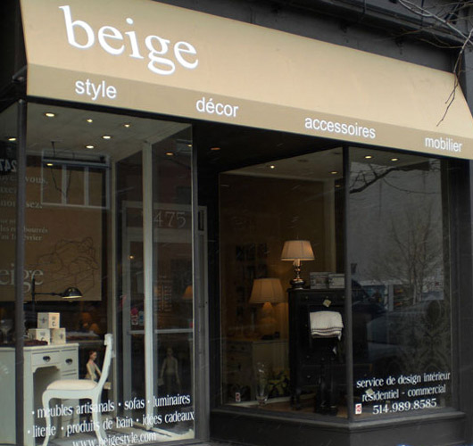 shop review beige montreal