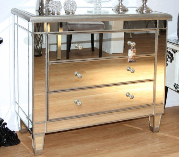 Mirrored Dresser-splurge