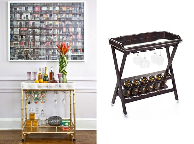 Bar Carts Home Entertaining