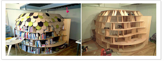 Daily Design Spot blog - Top 5 Book Storage Ideas You Wish You Thought Of