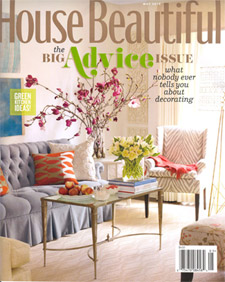 lovely sunny and tickles my credit card not that hard to do as a decor magazine but house beautiful has recently become one of my faves