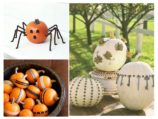 Ideas For Pumpkin Decorating Without Carving Pumpkin