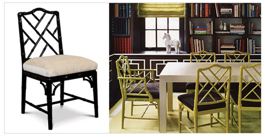 Nice Chippendale Armchair By Jonathan Adler. Top 5 Friday: Five Dining Chairs  That Give Instant Character