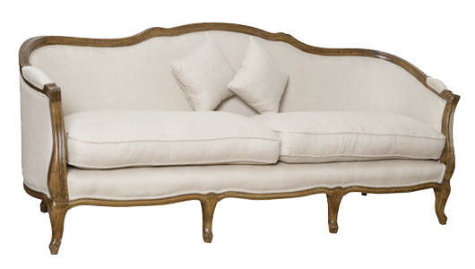 French style couch where to buy - Tapizar sofa de piel ...