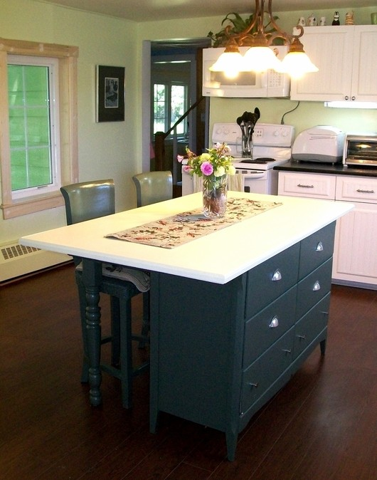 after a regal kitchen centrepiece what an inspired diy island