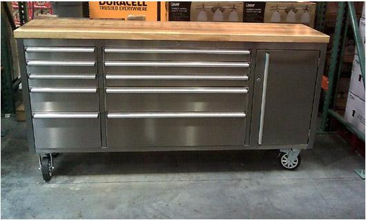 Odjo: Useful Costco Wood Workbench