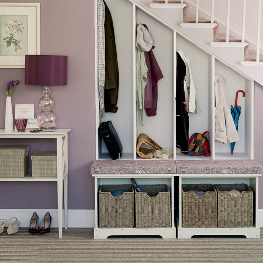 Top 6 Saturday: Hallway Storage and Organizing Ideas | Blog | HGTV ...