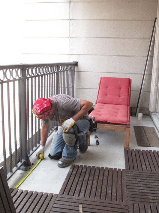 Watch Installing Balcony Floor Tiles Theres Still Time