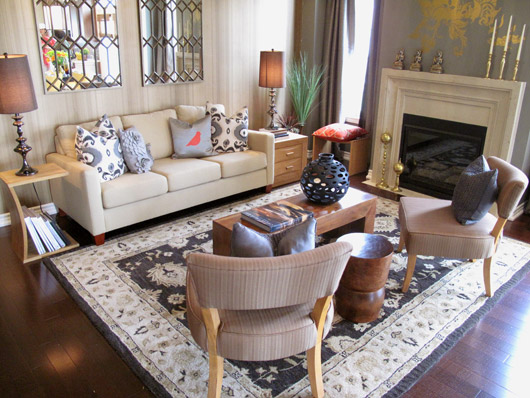 Which Model Home Showdown Living Room Do You Like Better