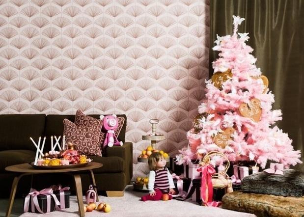 15  идей  оформления  новогодней  ёлки  TrendCat