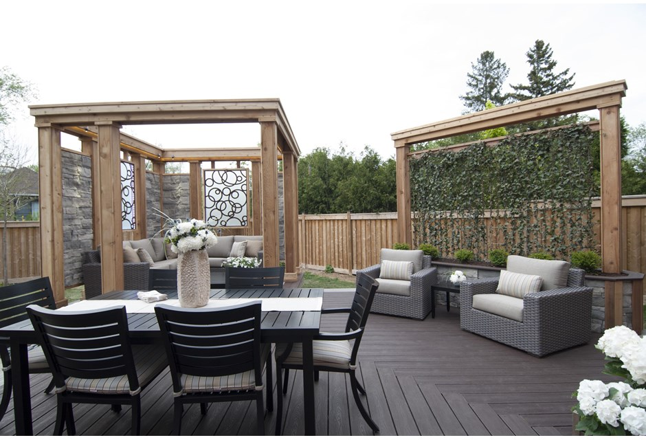 The Triangle Deck After Photos Hgtv Canada