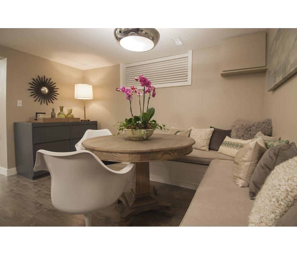 Modern Basement Dining Room