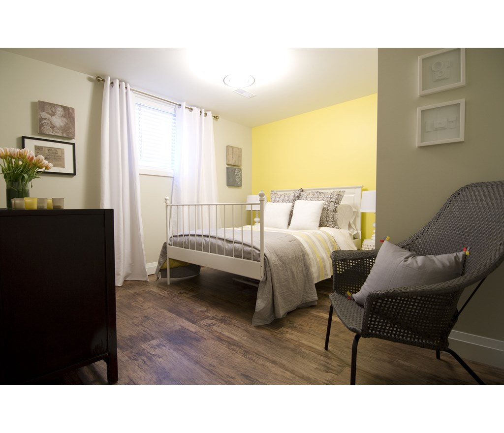 Sunny Bright Basement Bedroom Photos HGTV Canada
