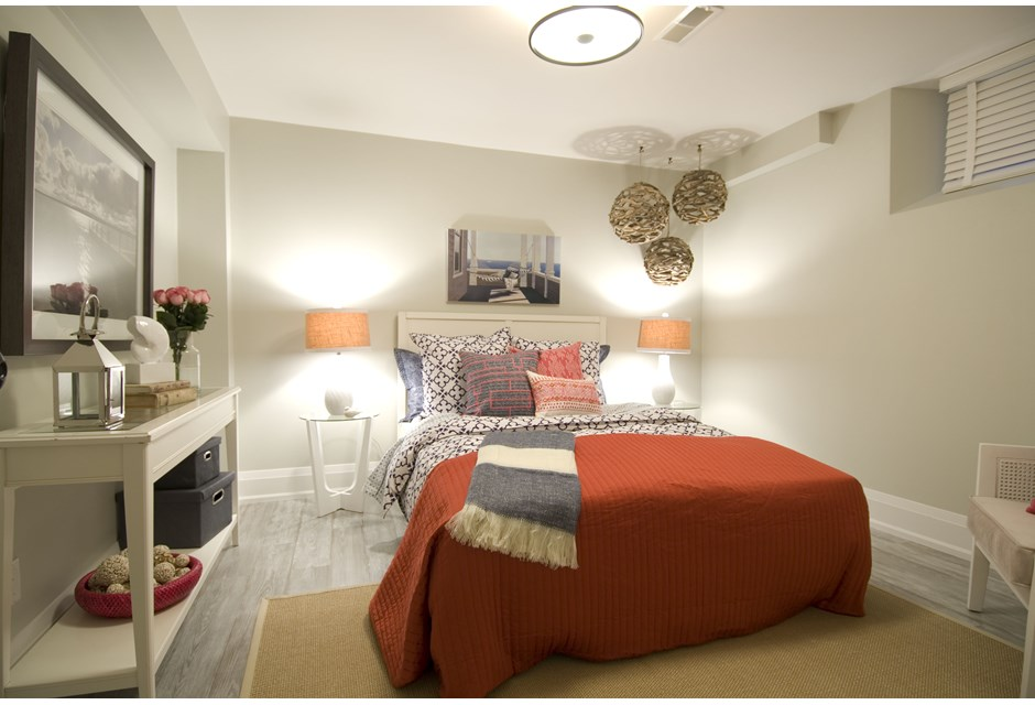 A Gorgeous Basement Bedroom Photos HGTV Canada