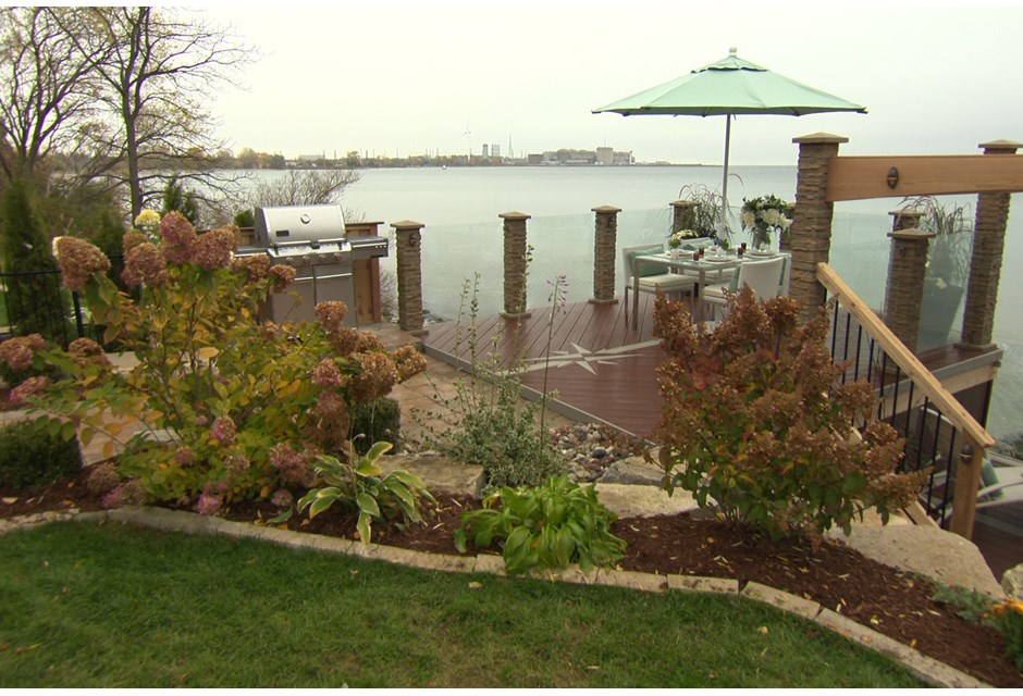 A Modern Waterfront Deck Photos Hgtv Canada
