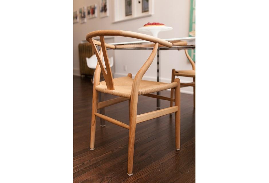 Wishbone chairs photos hgtv canada - Wishbone chair canada ...