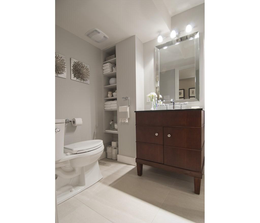 Hgtv Storage Ideas: Built-In Bathroom Storage