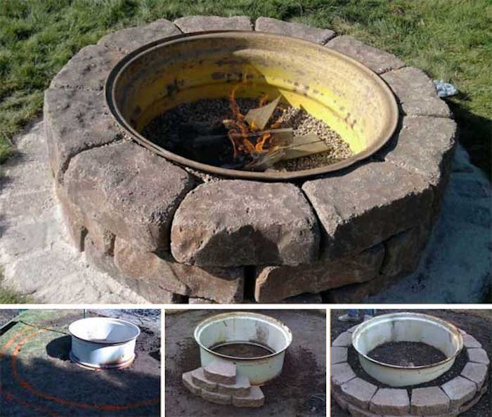 Tractor Tire Fire Pit Photos HGTV Canada