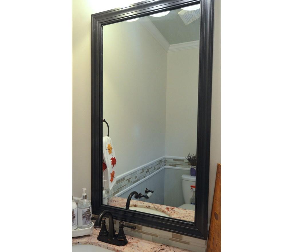 Frame The Bathroom Mirror Photos Hgtv Canada