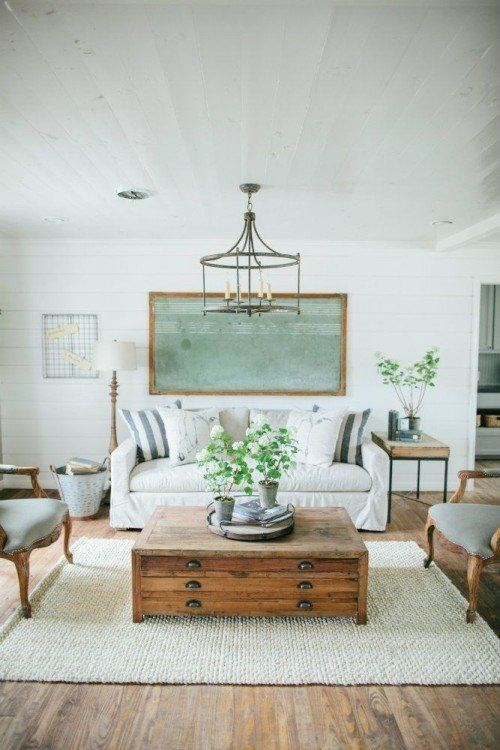 Joanna Gaines Tips For Decorating Living Rooms: Joanna Gaines' Unexpected Ideas