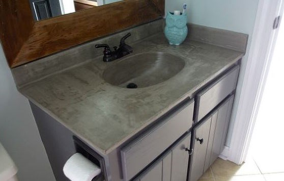 Resurface Bathroom Vanity Photos HGTV Canada