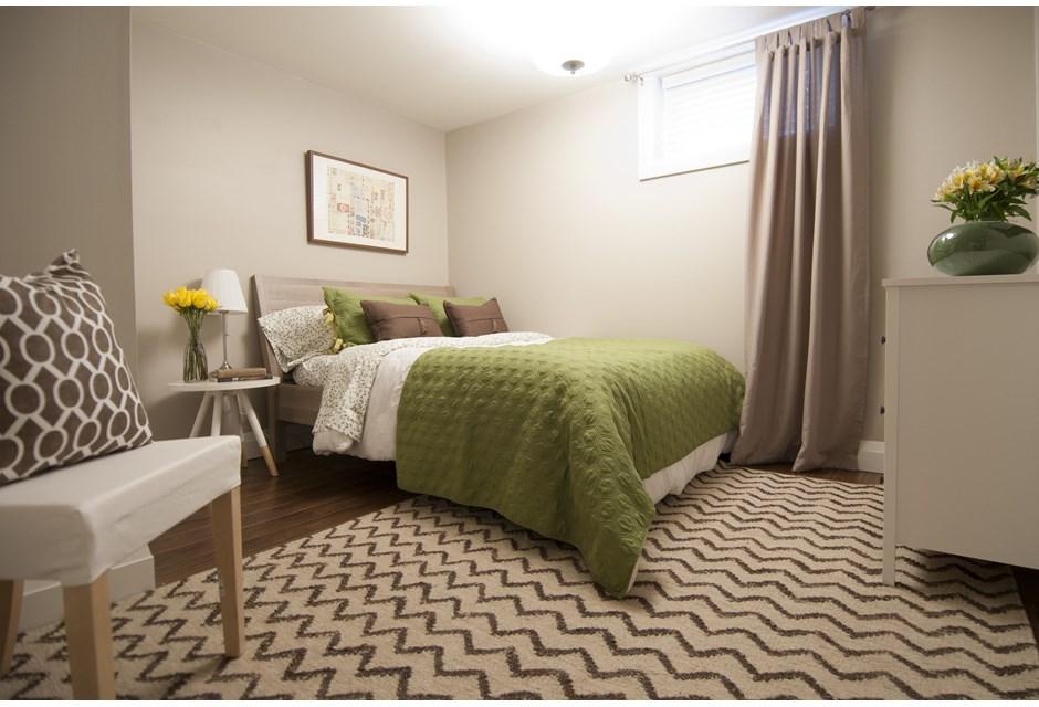 Cozy Second Basement Bedroom Photos HGTV Canada