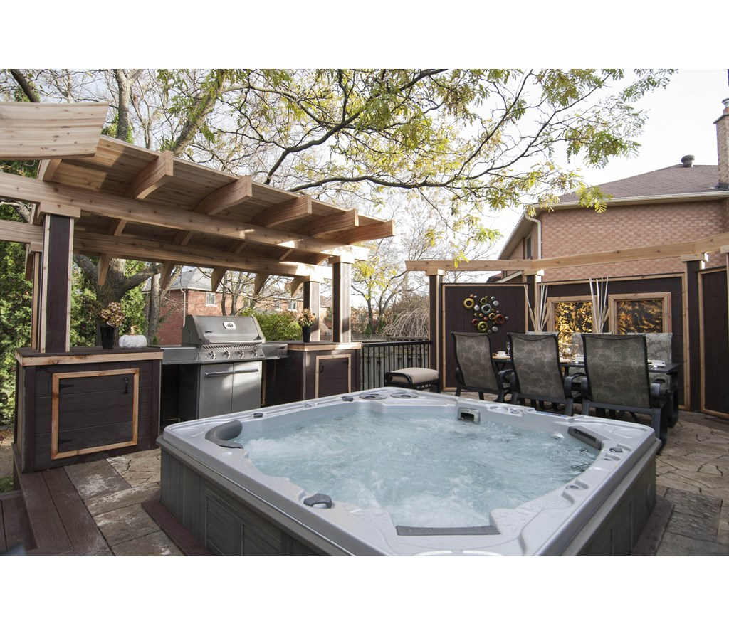 The hot tub grill station photos hgtv canada