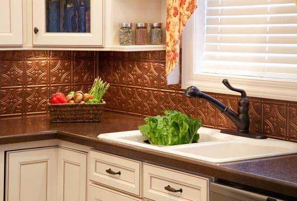 copper kitchen backsplash photos hgtv canada