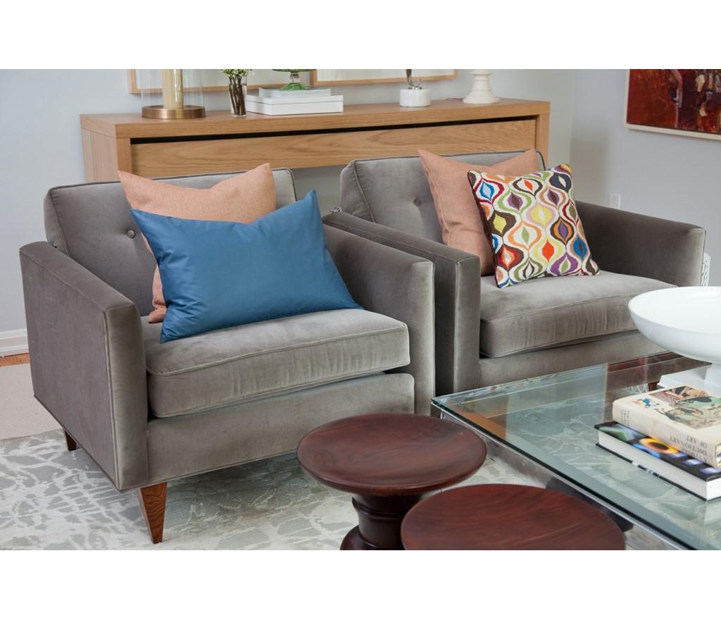 Basement Kitchen Design 9 Tips From Designer Samantha Pynn: Lauren & Mike's Living Room
