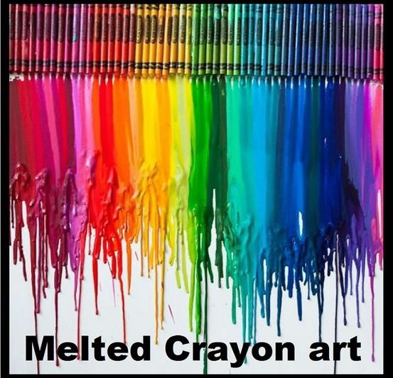 Crayon art techniques quotes for Melted crayon art techniques