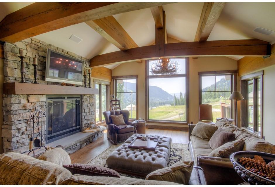 a cozy living room fireplace photos hgtv canada