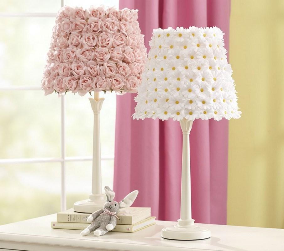Flower Lamp Shade : Lamp shade revamped photos hgtv canada