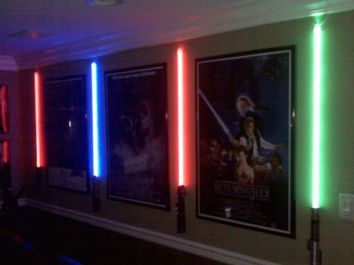 Lightsaber Wall Sconce Photos HGTV Canada