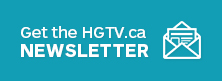 HGTV Newsletter CTA Phone