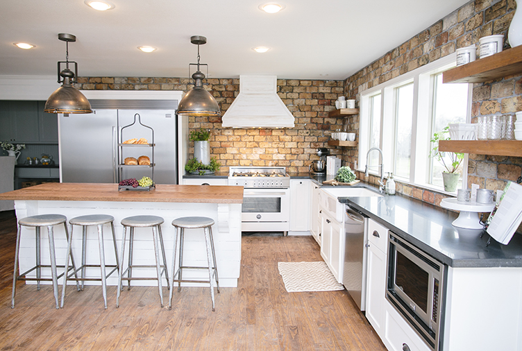 ... Featured Image Of Country Chic Kitchen Redesigns From Joanna Gaines