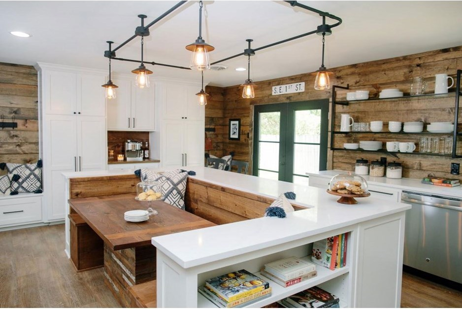 Country Chic Kitchen Redesigns From Joanna Gaines