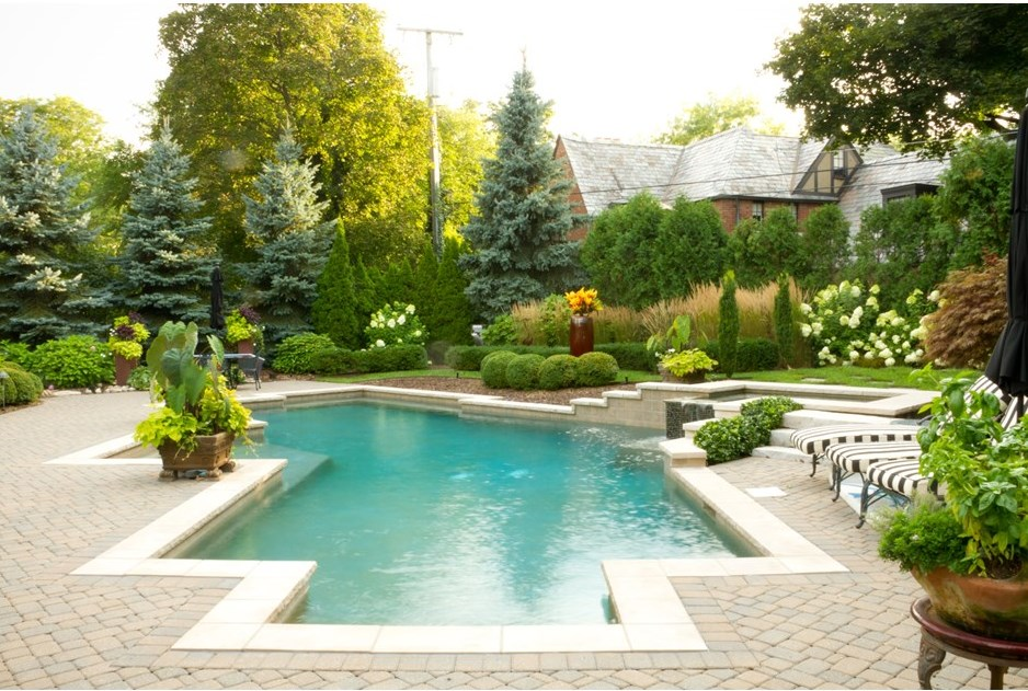Beautiful Backyard Ideas garden design with top most beautiful backyards in usa with backyard makeovers before and after from Geometric Pool