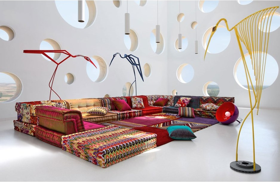 Favori 20 Living Rooms with Chic Colourful Sofas YV05
