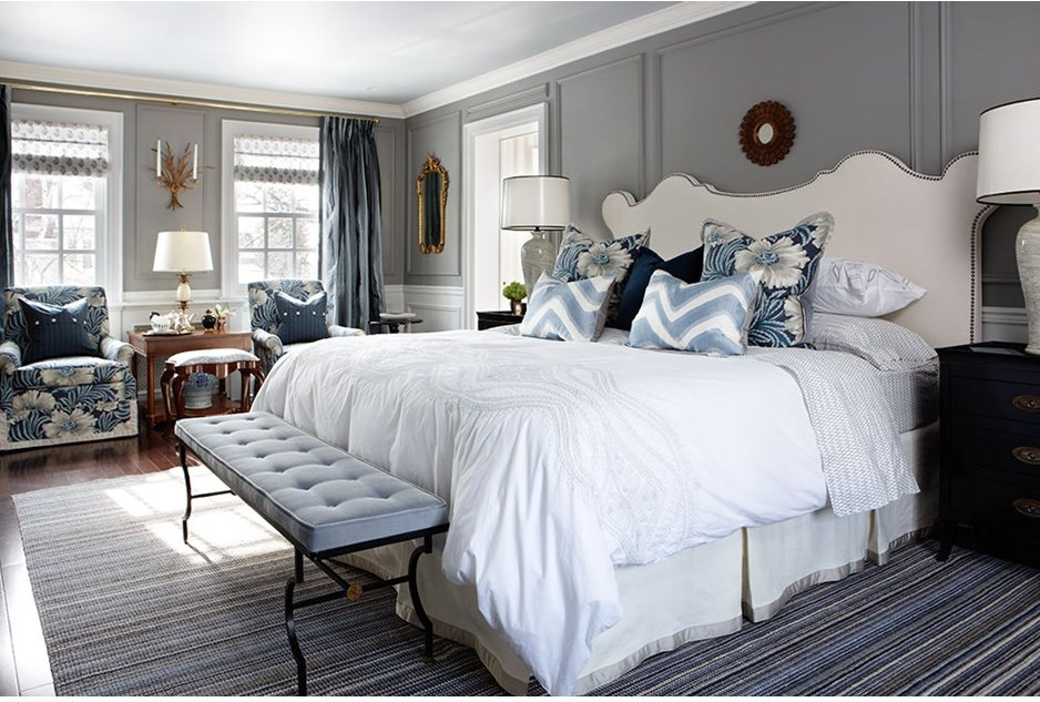 grey blue bedroom. Of Sarah Richardson S Most Beautiful Bedrooms Gray Blue Bedroom Ideas  Interior Design