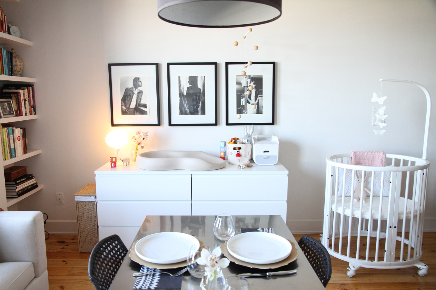 A Family Of Three In 600 Square Feet