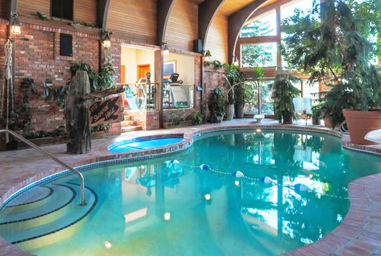 Calgary oil tycoon 39 s 10m mega mansion has a pool in its for Pool show on hgtv