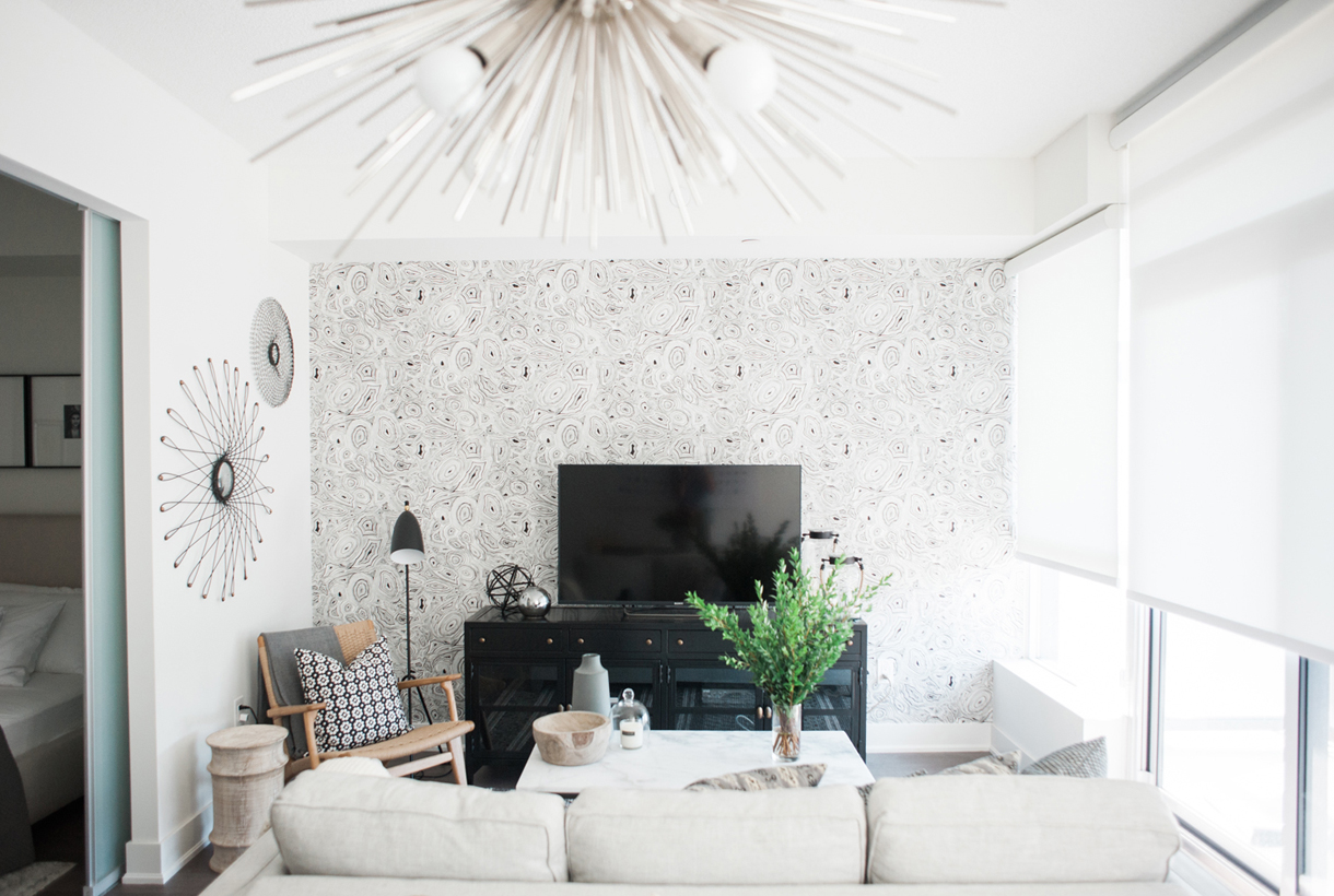 Wallpaper For Small Spaces Part - 44: ... Featured Image Of This Small Space Will Make You Want To Wallpaper  Immediately