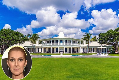 Celine Dion's Spectacular Florida Water Park Home Sells for $38.5M